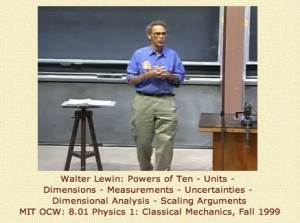 Walter Lewin Physics, April 2010